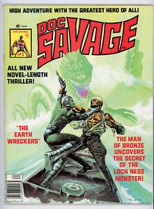 DOC SAVAGE magazine #5 (Marvel 1976) VF condition! NO RES!