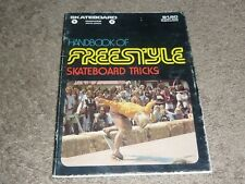 Handbook of Freestyle Skateboard Tricks / Rare / 1975 Cowboy Star Publications