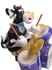 SO`VACHE Kuh Schlagzeug drum Jazz Musik Figur Sammlerfigur Band Orchester 20423