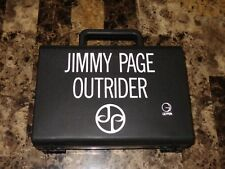 Jimmy Page Rare Promo Prop Outrider Briefcase Suitcase CD Tape VHS Led Zeppelin