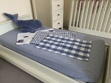 Little White Company Cotbed Fitted Sheet Plus 3 Pillowcases