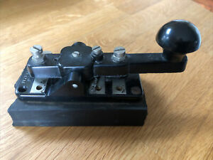 Morse Code Key WT 8 AMP No2 MK III -  British Military / Ham Radio