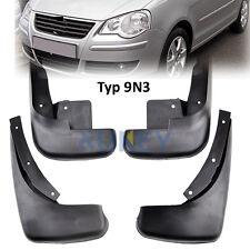 Set Molded Mudflaps Mud Flap Fit For VW Polo 9N3 Hatchback 05-09 Splash Guards