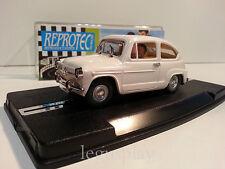 Slot Scalextric Reprotec Ref. 1954 Seat 600 Blanco