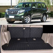 Full Covered Seat Pad Cargo Box Trunk Floor Mat Carpet Liner For Toyota Prado