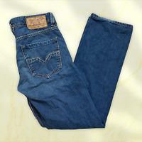 Mens Diesel Industry Larkee Wash 008XY Denim Blue Jeans - Size 31R (W31 L31) U4
