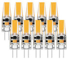 E11/E12/E14/E17/BA15D/G4/G8/G9 Dimmable COB LED Silicone Crystal Bulb Samsung