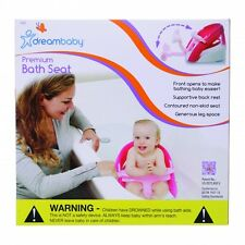 New Dreambaby Pink Premium Deluxe Baby Safety Bath Seat Dream