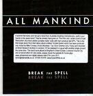 (CB388) All Mankind, Break The Spell - 2011 DJ CD