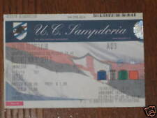 SAMPDORIA AALBORG DANEMARK BIGLIETTO TICKET UEFA 07/08