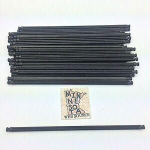 "25 Knex Black 7-1/2"" Rods - Standard K'nex Parts Lot - RHTF"