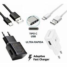 Cargador Samsung USB TIPO C GALAXY S8 S9 NOTE 8 9 PLUS CARGA RÁPIDA 3.5V Tab