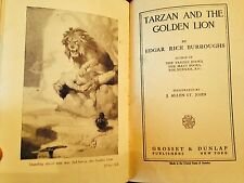 Tarzan & The Golden Lion by Edgar Rice Burroughs- 1923