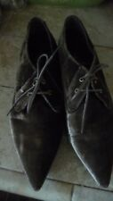 SixtySeven Brown Velvet Shoes Size 41/10