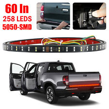 "60""DOUBLE LED Truck Tailgate Light Bar Brake Reverse Turn Signal Stop Tail Strip"