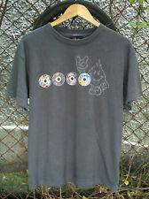 Vintage 90s World Industries Skateboard T-Shirt Size Medium,Thrasher,Hook Ups