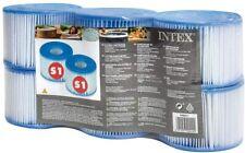 Intex Purespa Spa Filter S1 Cartridge 6 Pack