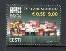 ESTONIA MNH 2010 SG617 EXPO 2010 - SHANGHAI
