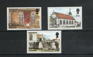 1999  Falkland Islands, Centenary of St Mary's R.C. Church U/M  set