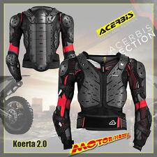 PETTORINA PROTEZIONE  MOTO CROSS ENDURO QUAD MTB ACERBIS  KOERTA 2.0 TAGLIA S/M