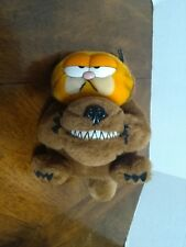 1981 Garfield Furry Tales Big Bad Wolf Plush Stuffed Animal Halloween Costume