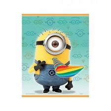 Despicable Me 2 Minions Plastic Treat Bags Favours Loot Bags (Pack of 8)
