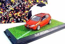 VOLKSWAGEN GOLF,GOAL-2006, SCHUCO 1/43 ORANGE DIECAST CAR MODEL, LIMITED EDITION