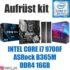 🅸🅽🆃🅴🅻 Core i7 9700F ● ASRock B365 Mainboard ● 16GB RAM ● Intel Bundle Kit