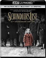 Brand New Factory Sealed Schindler's List [4K Ultra Hd + Digital] [Blu-ray]