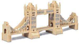 Tower Bridge   QUAY Woodcraft Construction Kit FSC