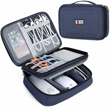 Gadget Organiser Travel Cable Electronics Carry Case Large Capacity Tablet Pouch