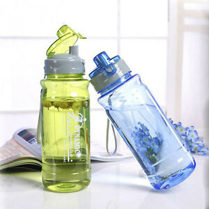 Water Bottles With Cover Lip Filter Clamshell Drinkware Space Cup Sports Bottle