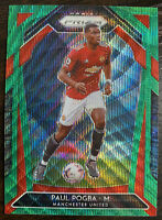 PAUL POGBA 2020-21 PANINI PRIZM EPL #9 GREEN WAVE MANCHESTER UNITED PSA READY ⚽️