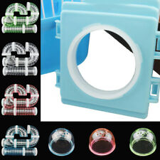 Small Hamster Cage Fittings External Pipe Mouth Baffle Hamsters Toy Plate