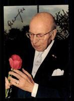 Robert Stolz Autogrammkarte Original Signiert ## BC 111940