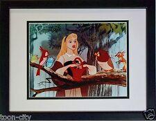 Disney Sleeping Beauty Signed Mary Costa Briar Rose Voice 1959 New Frame CoA