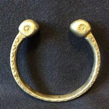 Aurès Bijoux berbère bracelet de cheville Khalkal alliage XX ème Tunisie Maroc