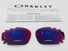 LENTES OAKLEY RACING JACKET 9171 & JAWBONE 9089 PRIZM ROAD REPLACEMENT LENSES