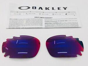LENTES OAKLEY RACING JACKET 9171 & JAWBONE 9089 PRIZM ROAD REPLACEMENT LENSES