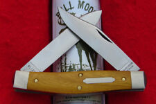 Great Eastern Tidioute #81 Bull Moose Knife - Osage Orange Wood GEC - USA 811217