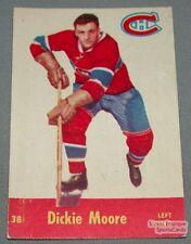 1955-56 Parkhurst Montreal Canadiens Hockey Card #38 Dickie Moore