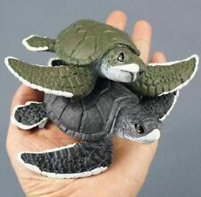 Plastic Turtle Tortoise Model Animal Figures Marine Ocean Beach Life Kids Toy