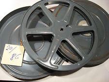 16 mm massive alte Eisenspule Filmspule 20/86 für 300 meter-Antique film reel