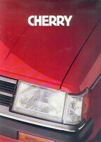 Nissan Cherry Prospekt 1983 brochure prospectus Autoprospekt prospetto Auto Pkw