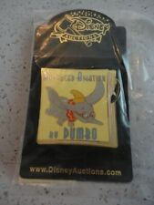 Disney Auctions Pin Dumbo Elephant Advanced Aviation Sealed in Plastic