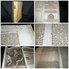 Storie fiorentine di messer Bernardo Segni – Augusta 1723