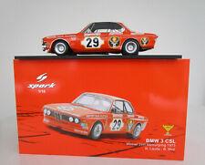Spark BMW 3.0 CSL Jägermeister Lauda Nürburgring 1973  1:18
