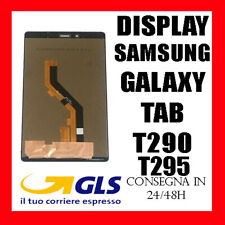 DISPLAY LCD SAMSUNG GALAXY TAB A 8.0 SM T290 T295 3G TOUCH SCREEN VETRO NERO