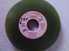 "Ray Price 45 rpm ""Danny Boy"" COLUMBIA 4-44042 DJ COPY on GREEN-WAX"