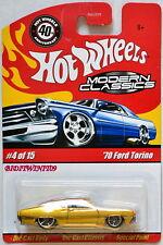 Hot Wheels 2008 Modern Classics '70 Ford Torino #4/15 Oro